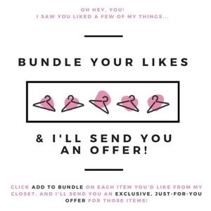 Other - How to Make a Bundle for a great deal!